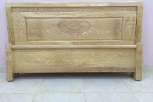 Giường ngủ gỗ Sồi giá rẻ 1