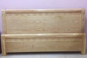 Giường ngủ gỗ Sồi giá rẻ 3