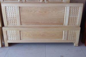 Giường ngủ gỗ sồi kiểu 2
