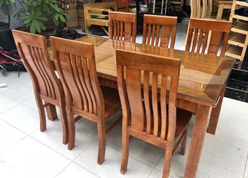 Kết quả hình ảnh cho bàn ăn gỗ