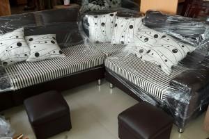 Bộ ghế Sofa nệm GLS39 mẫu 1