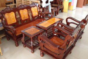 Bộ Salon gỗ Mã Lai 2