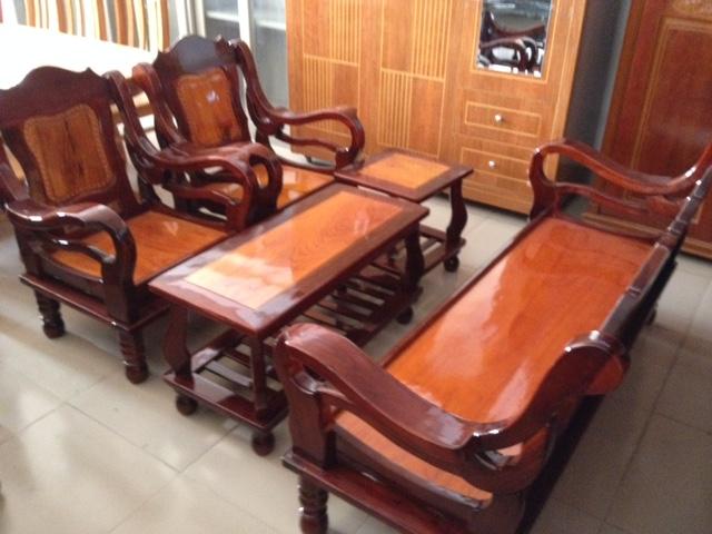 Bộ Salon gỗ Mã Lai