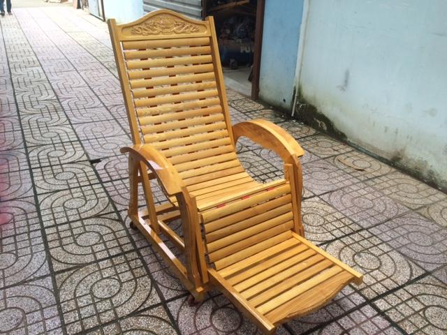 Ghế gỗ lười