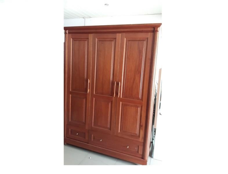 Tủ quần áo gỗ Gội nhập khẩu