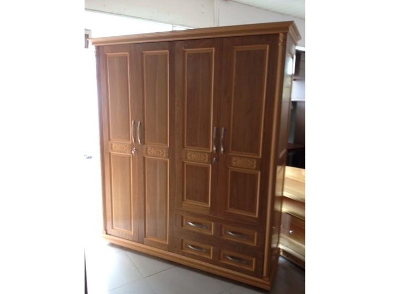 Tủ quần áo gỗ Sồi TAX4