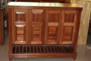 Tủ dép gỗ Xoan Đào 1