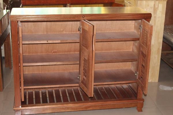 Tủ dép gỗ Xoan Đào 2