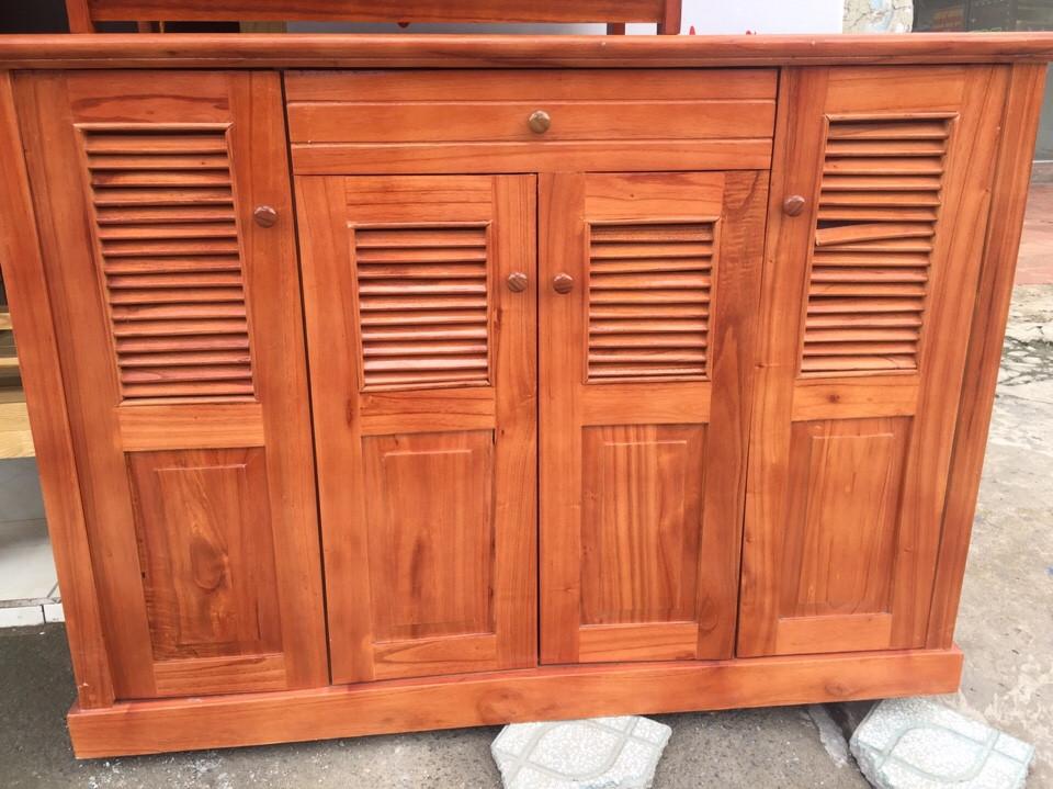 Tủ dép gỗ Xoan Đào 4