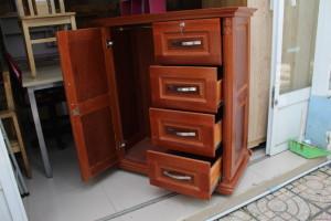 Tủ quần áo trẻ em gỗ ghép phủ Xoan 1