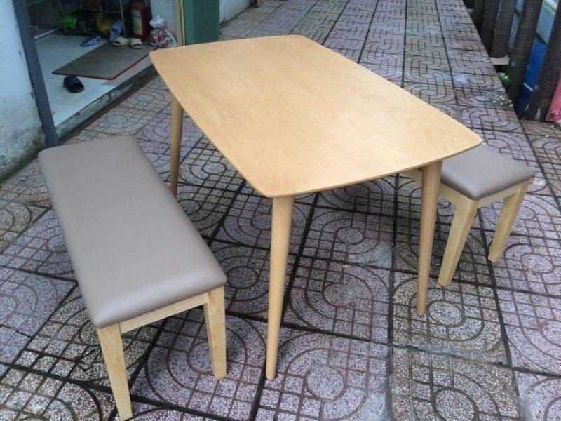 Bộ bàn ghế ăn gỗ xuất khẩu