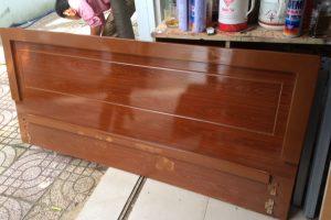 Giường ngủ gỗ MFC sơn PU