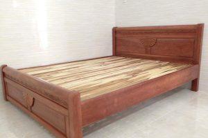 Giường ngủ gỗ Xoan Bắc