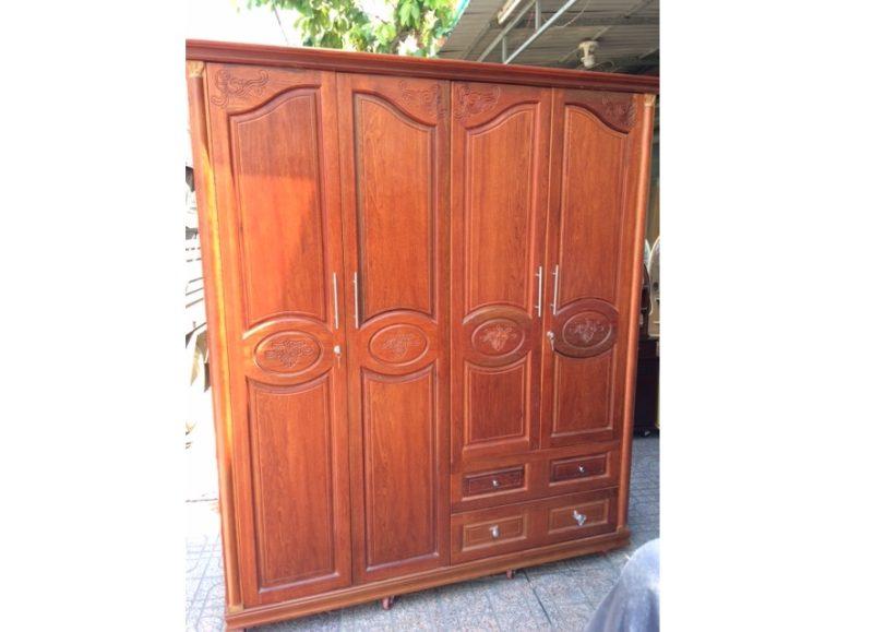 Tủ quần áo gỗ Còng 1