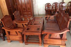 Bộ Salon gỗ Sồi GSLSH