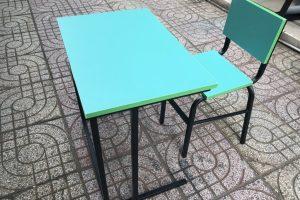 Bàn ghế học sinh chân sắt 1