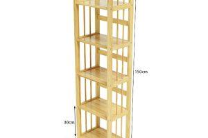 Kệ sách gỗ ngang 40cm 1