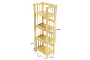 Kệ sách gỗ ngang 40cm