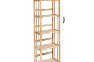 Kệ sách gỗ ngang 50cm 1