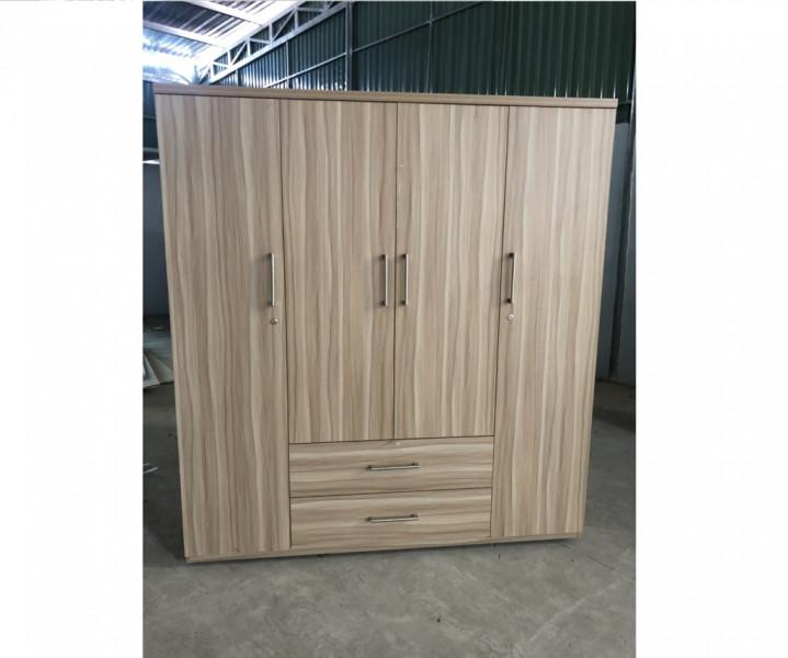 Tủ quần áo gỗ MFC phủ Melamine