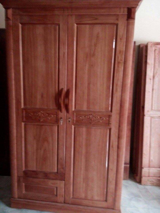 Tủ quần áo gỗ Xoan Bắc thanh lý 2