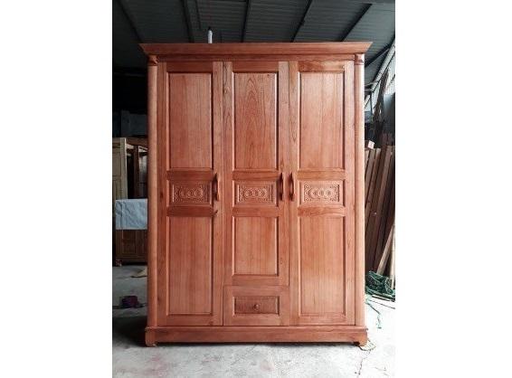 Tủ quần áo gỗ Xoan Bắc thanh lý